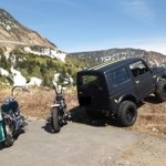 Harley&Dragstar&Jimnyでツーリング in 草津国際