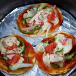 ダッチオーブンで炭火じっくりパエリア&ピザ作り2