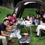 大人も子供も遊べる 沼尾川親水公園でキャンプ
