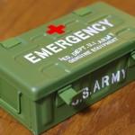 薬入れ用にU.S.ARMYで頑丈な救急箱をゲット