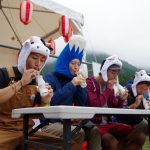 GO OUT CAMP 2日目 ラジオ体操からの牛乳早飲み大会