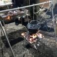 ダッチオーブンを吊るす焚き火ポットハンガーを自作