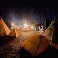 初対面キャンパー達と12人で合同冬キャンプ開催